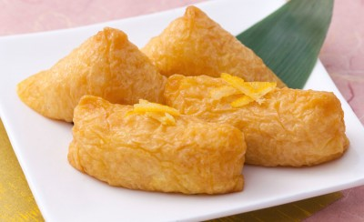 Yuzu flavored Inari-age (triangle, tawara shape)の詳細画像1